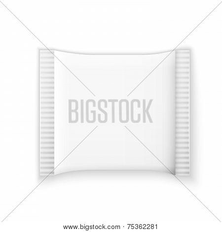 white plastic sachet for medicine