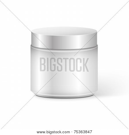Cosmetic Container for Cream Powder or Gel