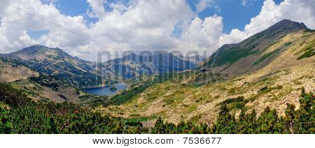 Panorama of Pirin mountain