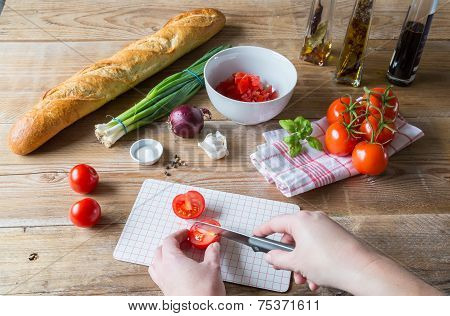 Bruschetta Ingredients