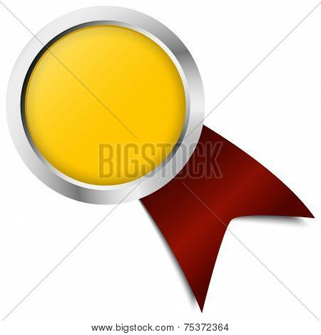 Button With Banner Template