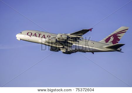 Qatar 380 Airbus