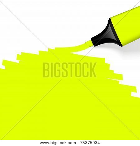 Colored Highlighter With Marking