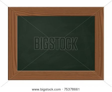 Slate Blackboard Green With Wooden Frame