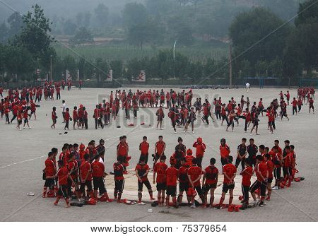School of Shaolin Temple