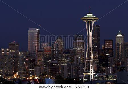 Seattle ficando escuro