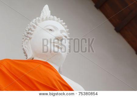 Buddha Statue In Wat Tra Phang Thong