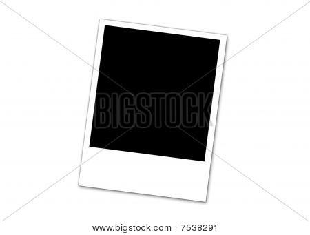 Polaroid-Foto single
