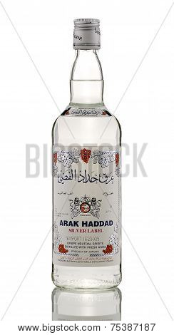 One Bottle Of Arak Haddad Silver Label