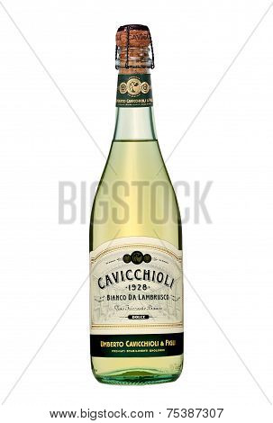 Sparkling Wine Cavicchioli Bianco Da Lambrusco Dolce