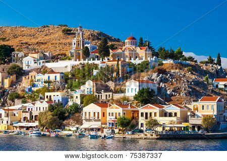 Overlooking Symi