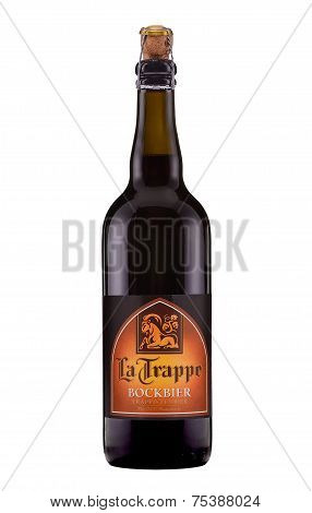 One Bottle Of Dunkler Beer La Trappe Bockbier