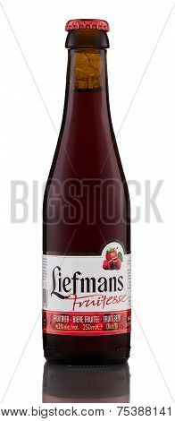 One Bottle Of Fruit Beer Liefmans Fruitesse