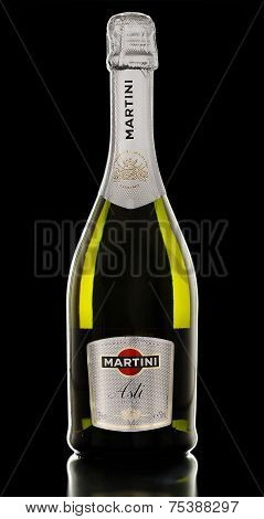 One Bottle Of Sparkling Wine Martini Asti Docg