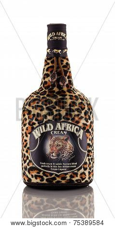 One Bottle Of Exotic Cream Liqueur Wild Africa