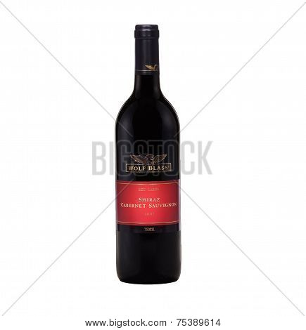 Red Wine Wolf Blass Red Label Shiraz Cabernet Sauvignon 2007