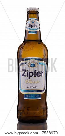 One Bottle Of Low Alcohol Beer Zipfer Classic