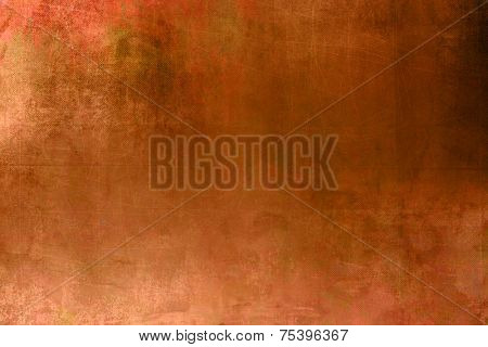 Terracotta background - abstract dark orange texture