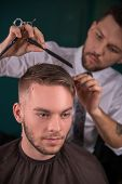 Постер, плакат: professional hairdressing salon