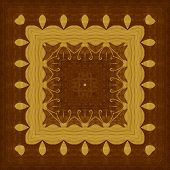image of marquetry  - Seamless background - JPG