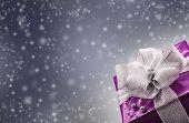 pic of purple white  - Christmas or Valentine - JPG