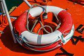 foto of life-boat  - Close - JPG