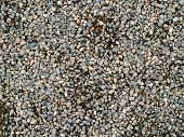 Playground Pea Gravel With Some Wet And Some Dry