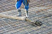 stock photo of formwork  - concrete work - JPG