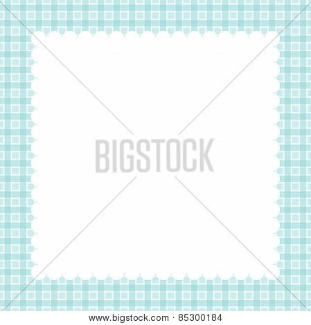 Pastel Greeting Card. Vector.