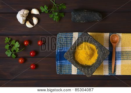 Curry Powder and Other Ingredients