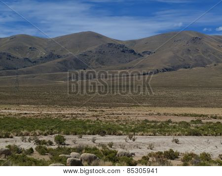 Altiplano In Bolivia