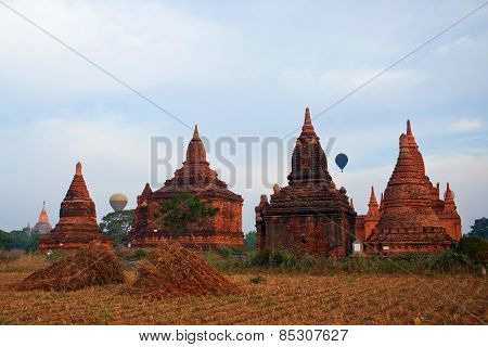 Bagan Archaeological Zone Myanmar.