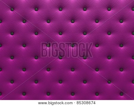 Buttoned  purple Texture.