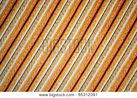 Yellowish color fabric pattern as a background
