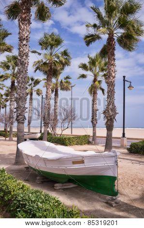 Valencia Beach Promenade
