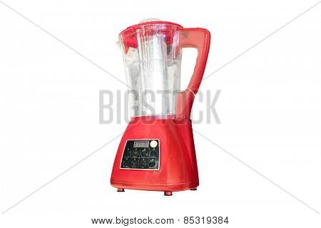 Blender, apparatus for cooking soup isolated on white
