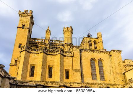 Saint Nazaire Cathedral In Beziers, France