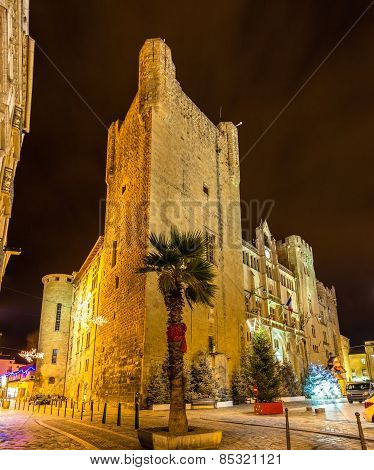 Palais Des Archeveques, The City Hall Of Narbonne - France, Languedoc-roussillon