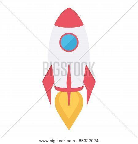 Rocket space ship.