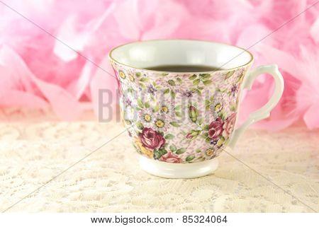 Teacup With Fresh Tea