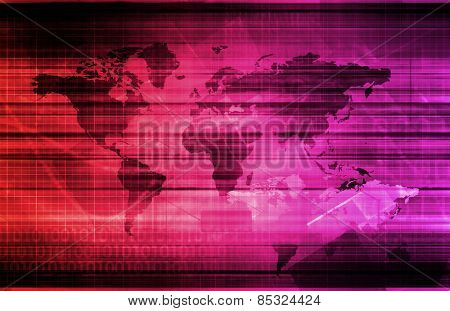 Global Information Technology Startup as a Image