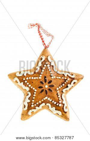 Gingerbread Ornament Star