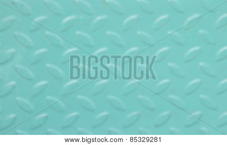 Turquoise color background with oval-shape texture