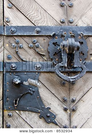 doorlock and doorknocker