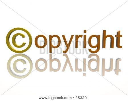 sign copyright
