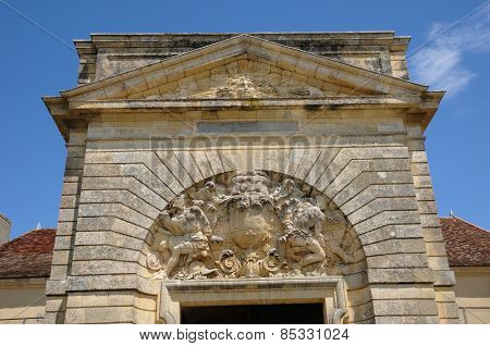 France, Vauban Architecture Of Fort Médoc In Cussac