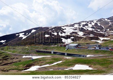 railways to Jungfrau mountain