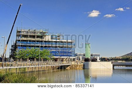 In Canberra Built Many New Buildings