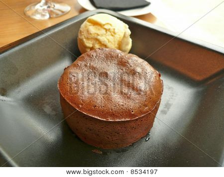 Chocolate, Volcano Souffle