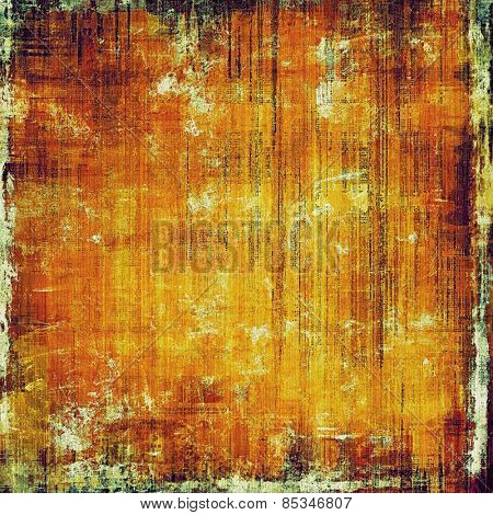 Highly detailed grunge texture or background. With different color patterns: yellow (beige); brown; red (orange)